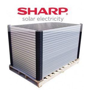 Panel solar monocristalino Sharp